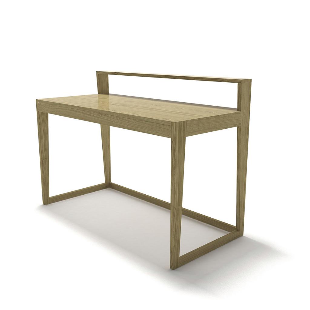 дизайнерский рабочий стол, письменный дизайнерский стол из массива