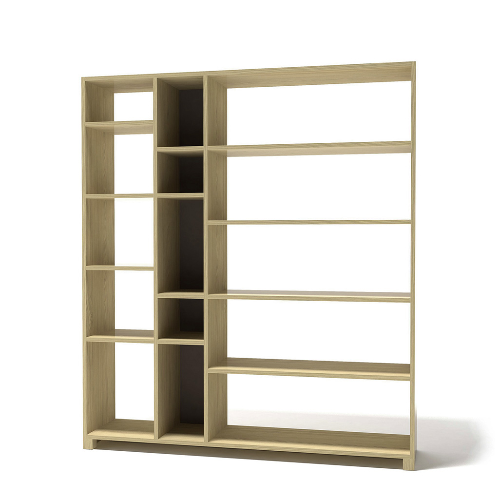 открытый книжный стеллаж дизайнерский для дома