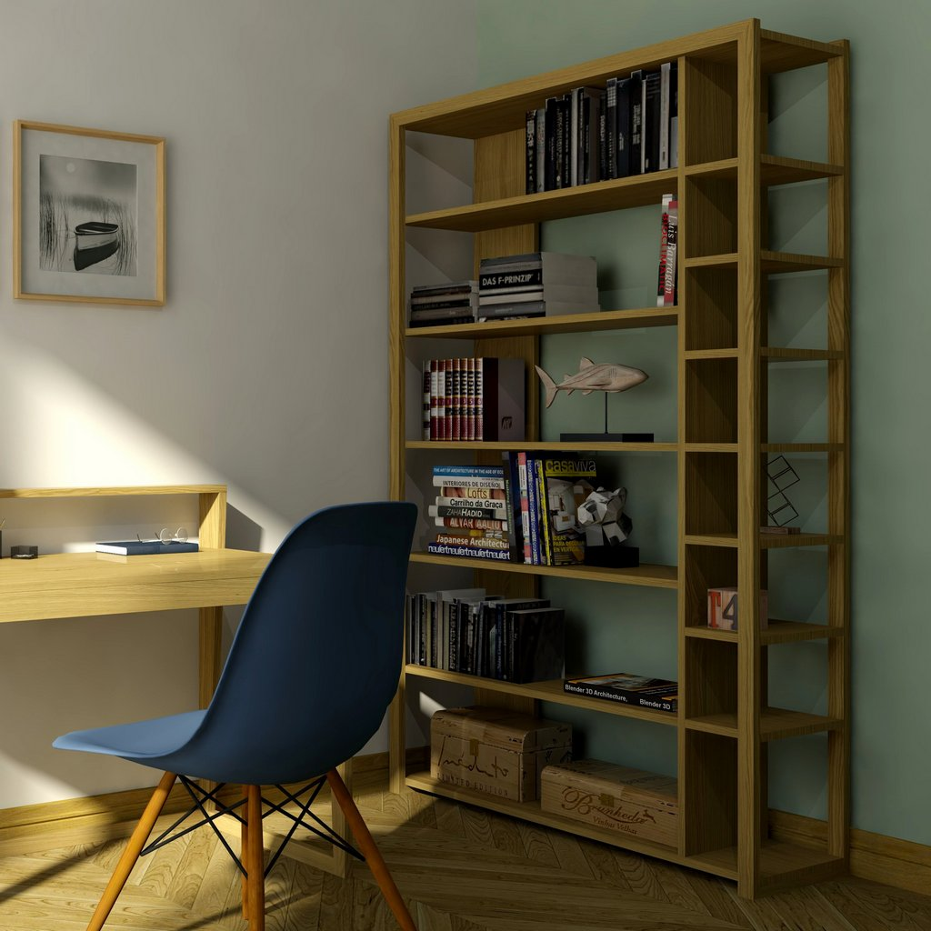 дизайнерский стеллаж для дома фото