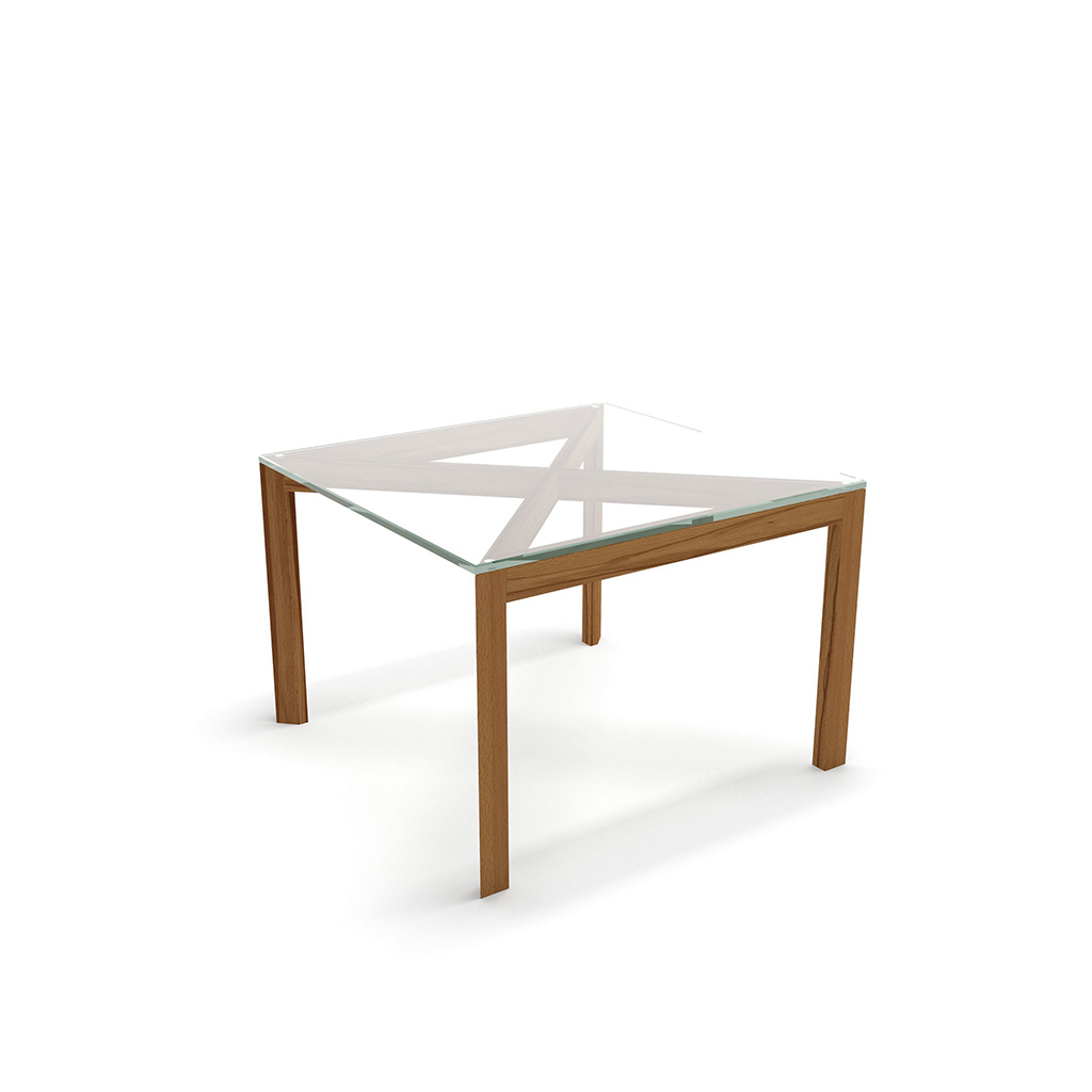 столик дизайнерский журнальный со стеклом