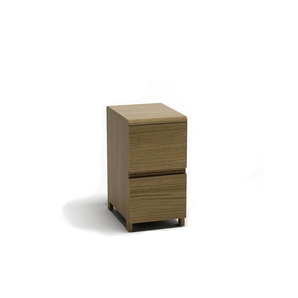 тумбочка для дизайнерского письменного стола пирс