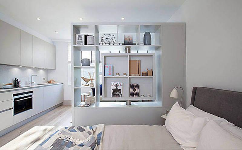 маленькая квартира-студия Abbeville