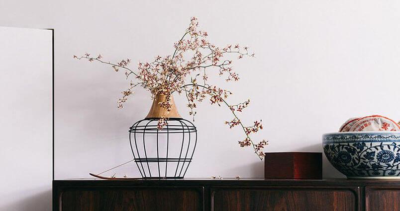 декоративная дизайнерская ваза