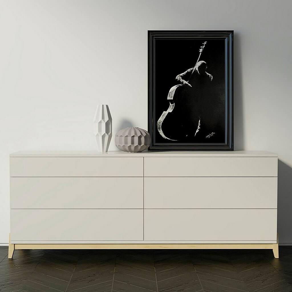 современная дизайнерская мебель тинт - комод туман фото