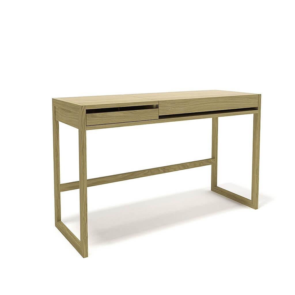 Лайм -удобный маленький компьютерный стол в спальню.
