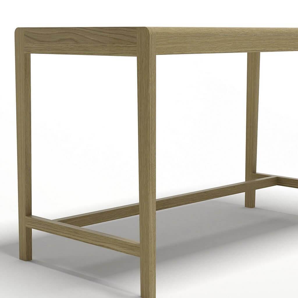 стол письменный из массива дуба серии Пирс