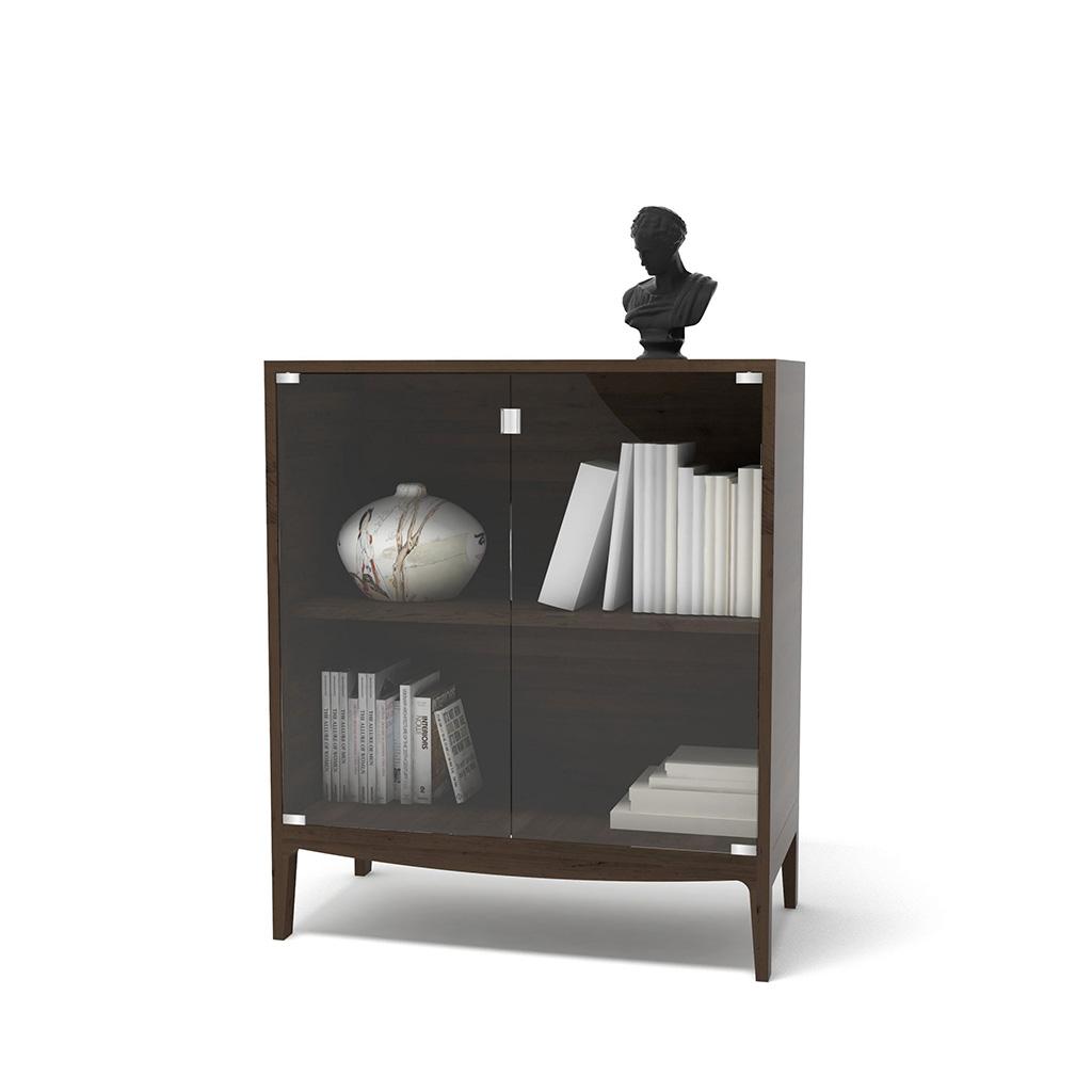 низкий дизайнерский шкаф трир