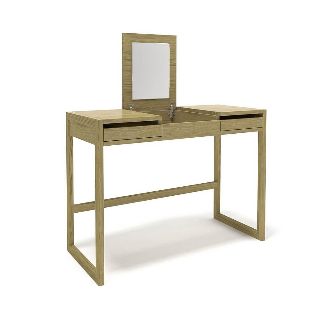 стол туалетный дизайнерский с зеркалом