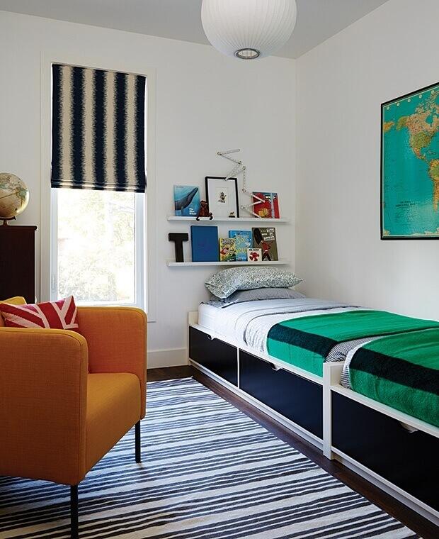 хранение для маленькой комнаты
