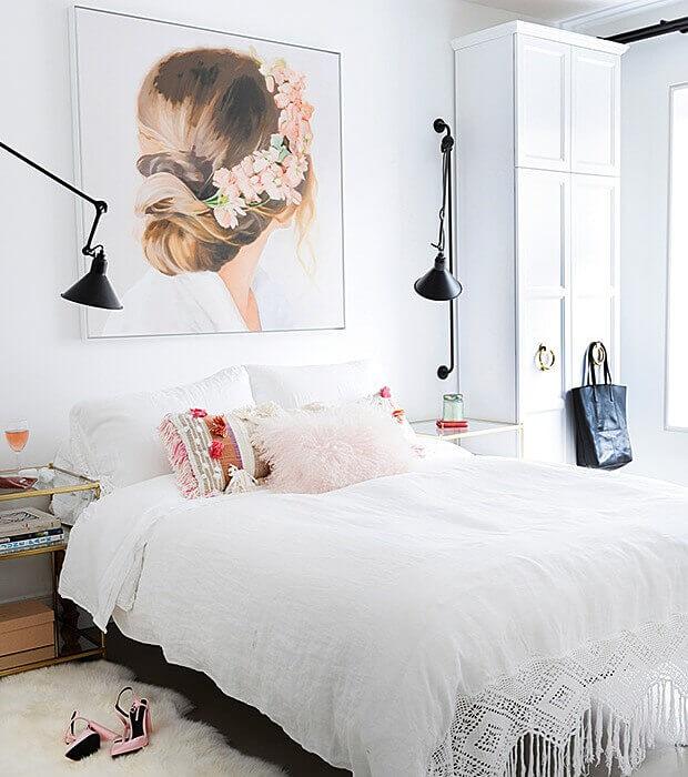 встроенная мебель в маленькой комнате
