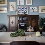 Классический синий в скандинавском интерьере